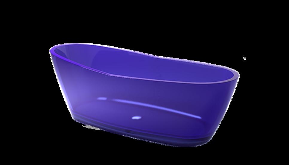 Gelatin - Free standing curved acrylic bath