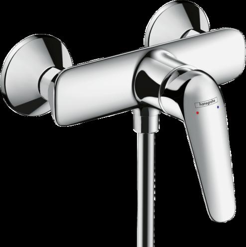 Novus Single lever shower mixer for exposed installation