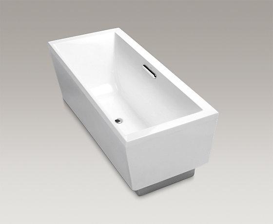 Evok 1.7m Rec Freestanding bath