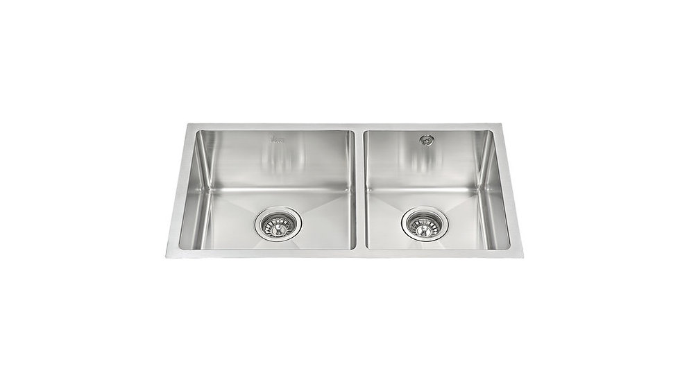 Undermount Stainless Steel Sink Two bowls