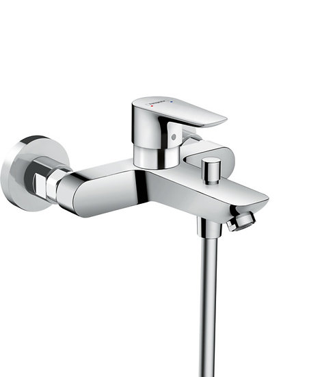 Talis E Single lever bath mixer for exposed installation with centre distance 15