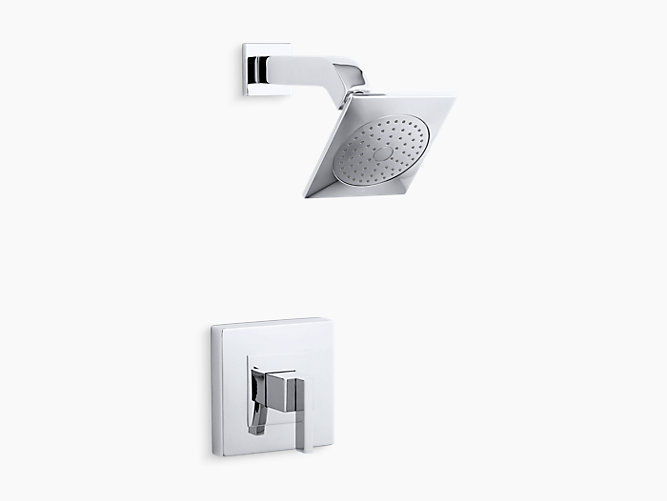 Loure® Rite-Temp® shower trim set, valve not included