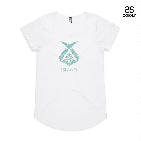 Island Vibes T - Ocean (Ladies)