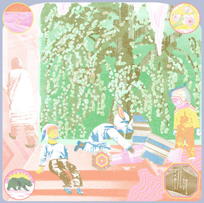 Idylls - Carefully Out Of Nowhere (LP)