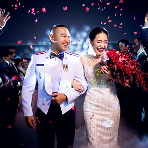 Nan-Ice Wedding reception