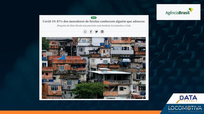 AGÊNCIA BRASIL: 87% dos moradores de favelas conhecem alguém que adoeceu