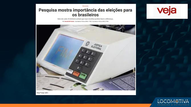 VEJA: Pesquisa mostra importância das eleições para os brasileiros