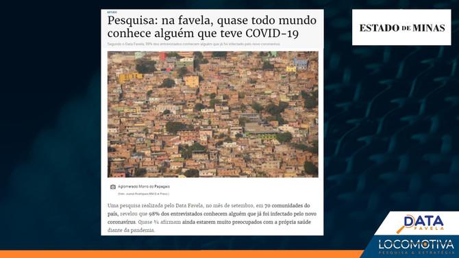 ESTADO DE MINAS: Na favela, quase todo mundo conhece alguém que teve COVID-19