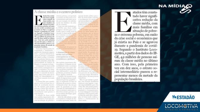 ESTADÃO: Editorial - A classe média e o centro político