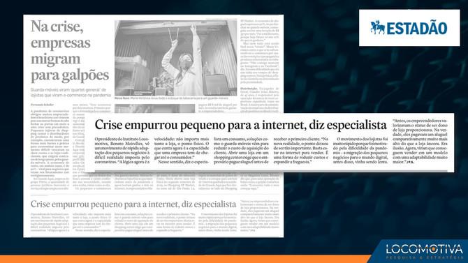 O ESTADO DE S. PAULO: Na crise, empresas migram para galpões