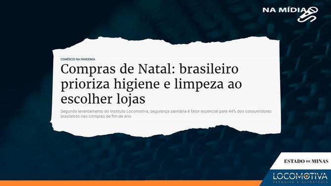 ESTADO DE MINAS: Brasileiro prioriza higiene e limpeza ao escolher lojas para compras de Natal