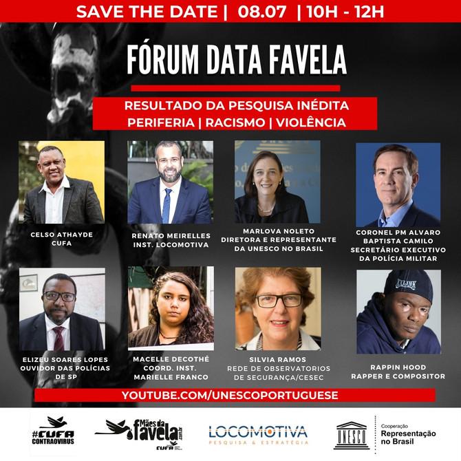 Debate e pesquisa inédita são destaques do 4º Fórum Data Favela