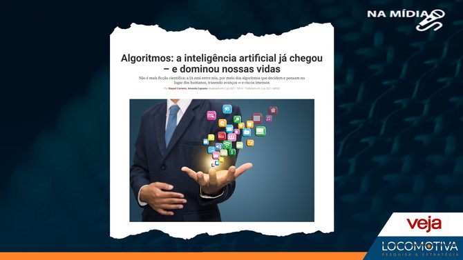 VEJA: Algoritmos: a inteligência artificial já chegou – e dominou nossas vidas