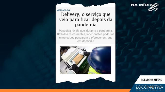 ESTADO DE MINAS: Delivery, o serviço que veio para ficar depois da pandemia