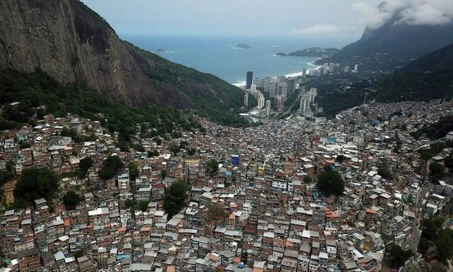 A comunidade das Rocinha, no Rio de Janeiro | Custódio Coimbra/Agência O Globo.