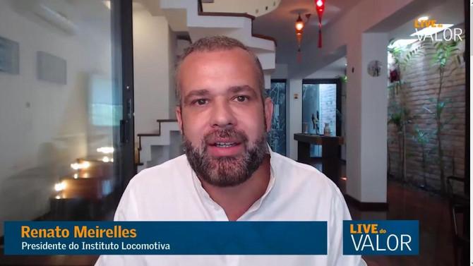 VALOR ECONÔMICO: Terceiro setor evitou convulsão social na pandemia, diz Renato Meirelles