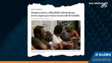 O GLOBO: Pesquisa mostra dificuldade enfrentada por jovens negros para entrar no mercado de trabalho