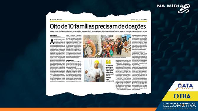 O DIA: 8 em cada 10 famílias nas favelas dependem de doações