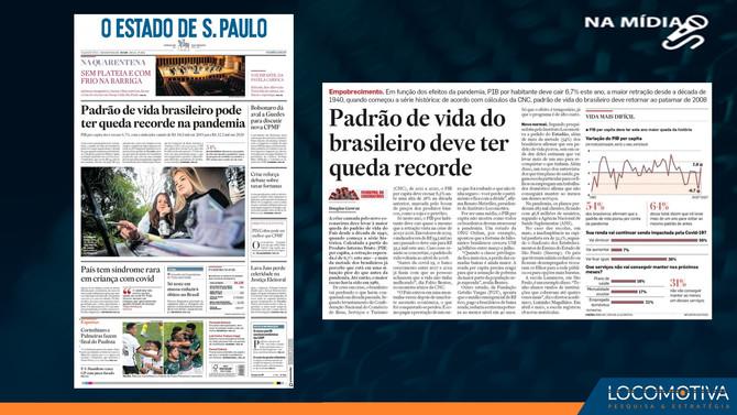 O ESTADO DE S. PAULO: Padrão de vida do brasileiro deve ter queda recorde