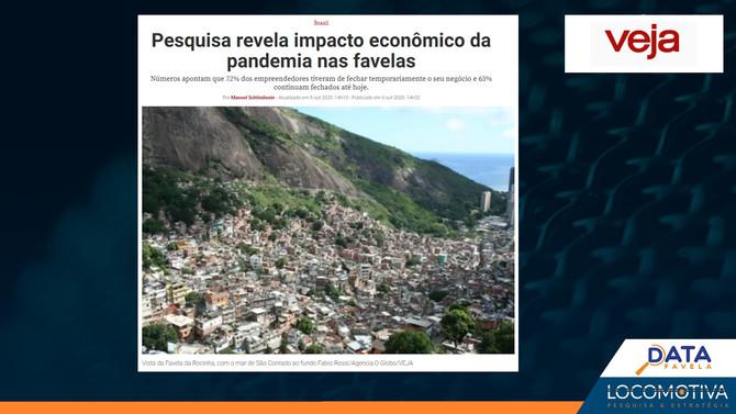 VEJA: Pesquisa revela impacto econômico da pandemia nas favelas
