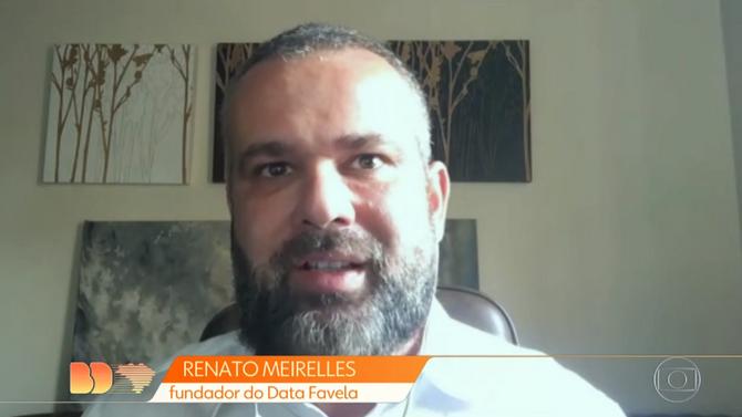 BOM DIA BRASIL: Moradores e comerciantes das comunidades se mobilizam durante período de isolamento