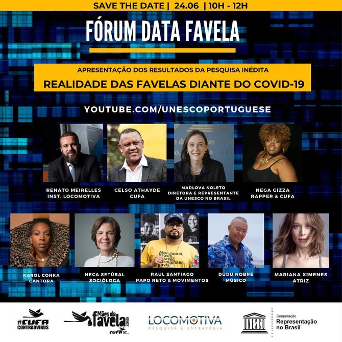 Acompanhe a segunda edição do Fórum Data Favela