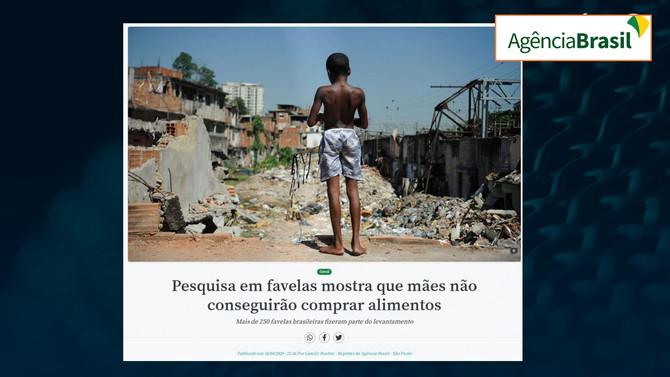 AGÊNCIA BRASIL: Pesquisa em favelas mostra que mães não conseguirão comprar alimentos