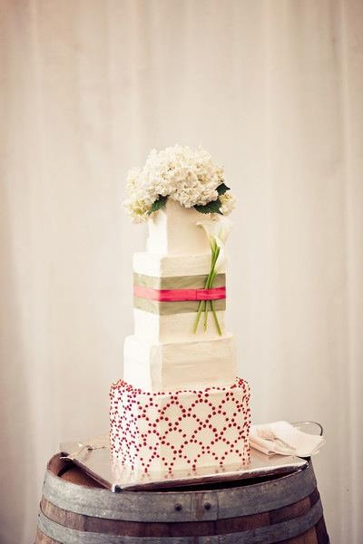 Bracken Wedding Cake