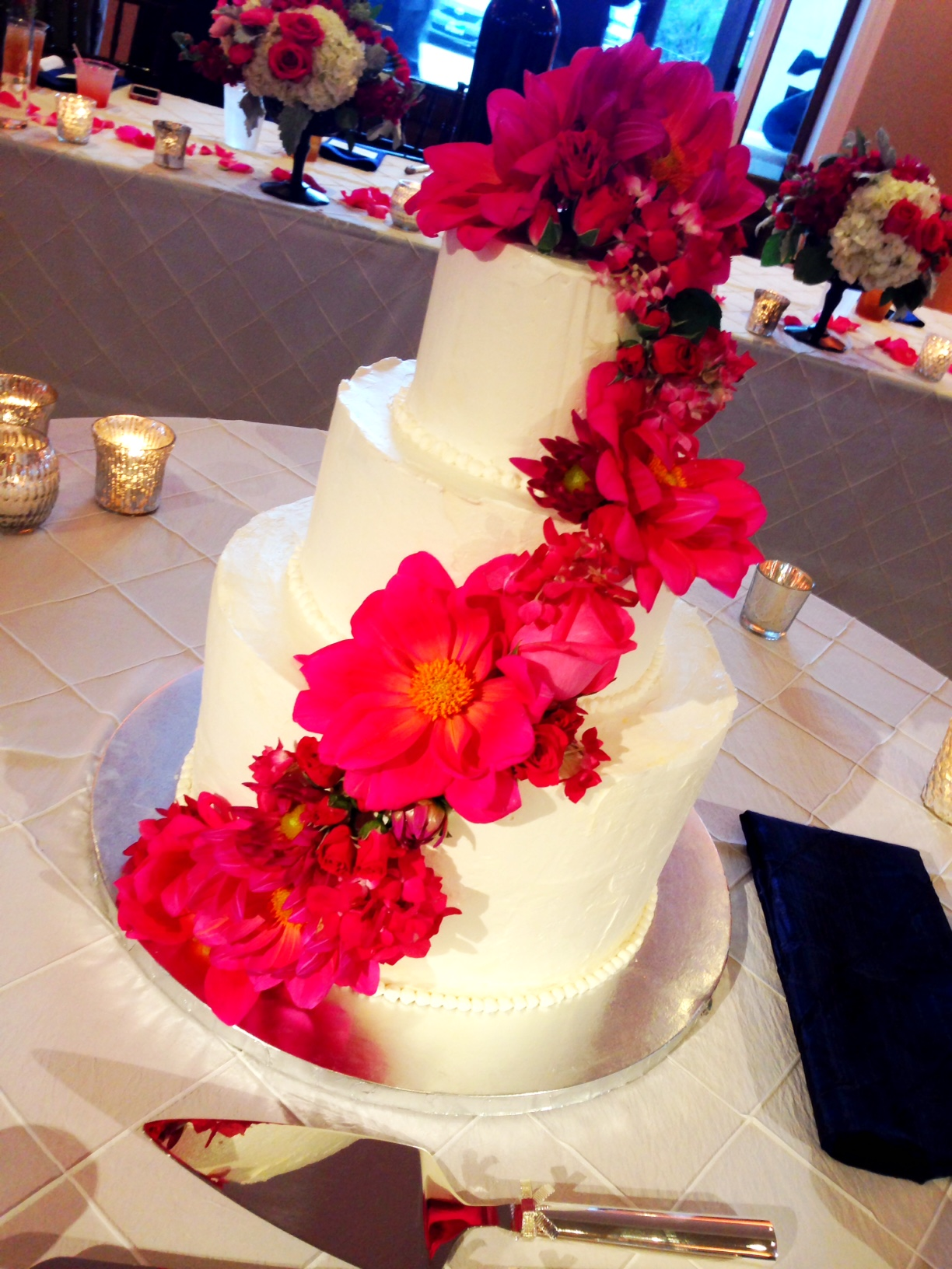 Schoggan Technicolor Wedding Cake
