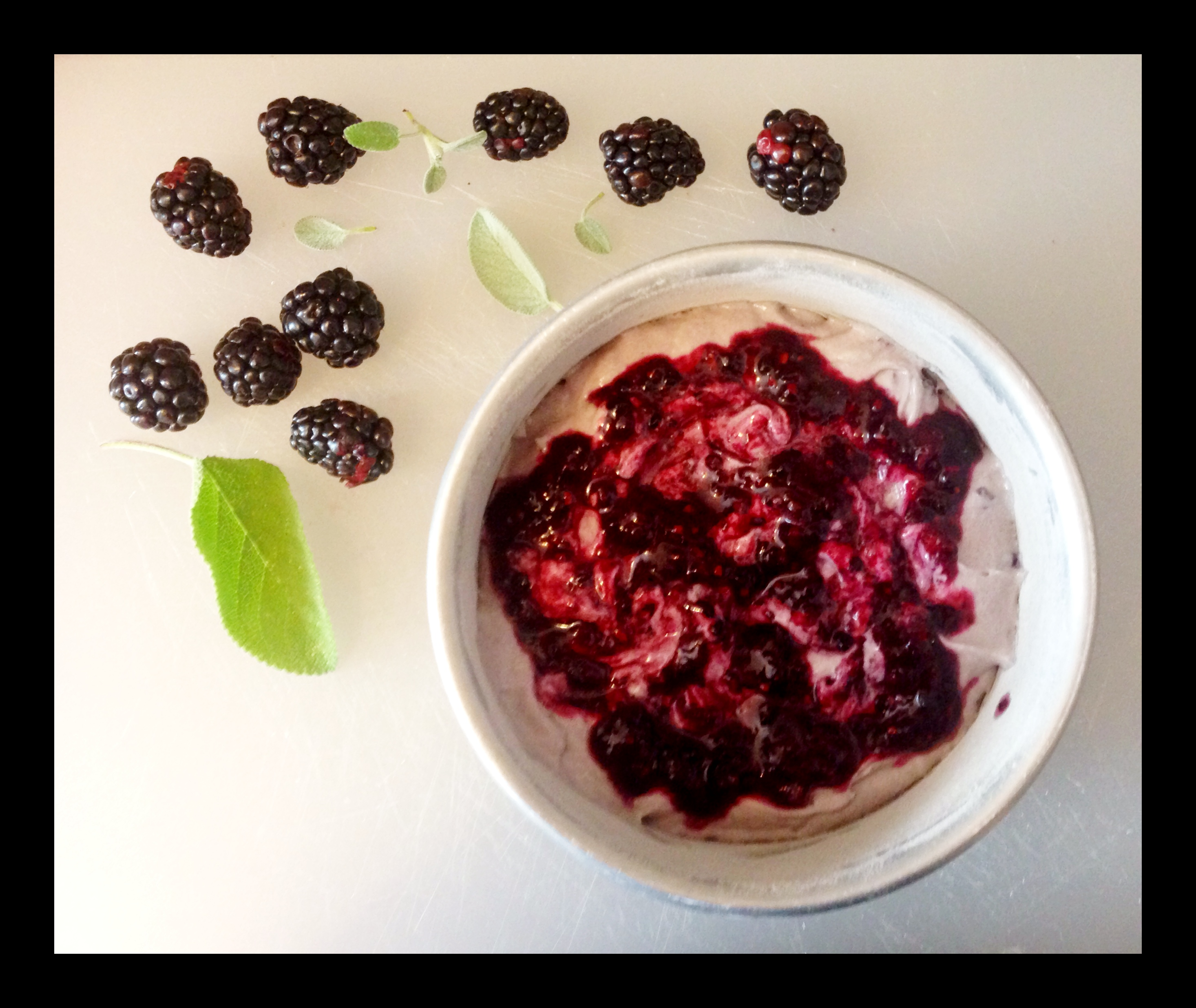 Blackberry Summer Cake