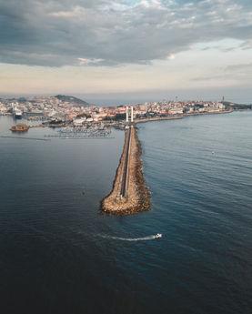 Dique de abrigo en A Coruña