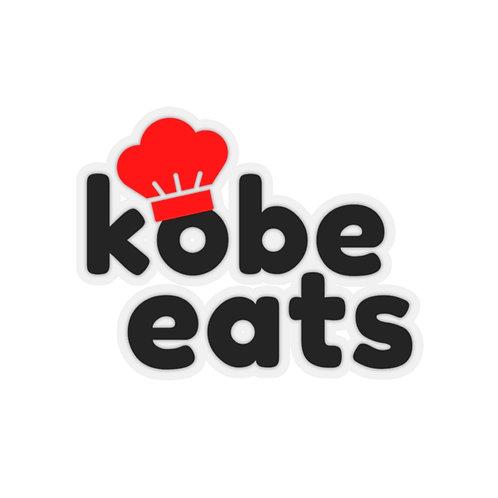 Kobe Eats Sticker (Original)