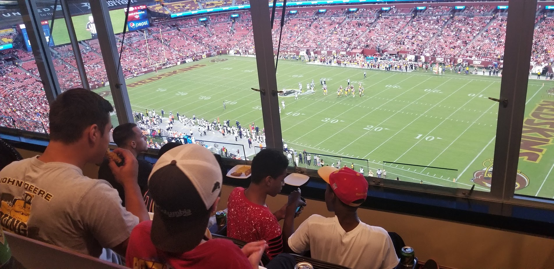 Redskins Game