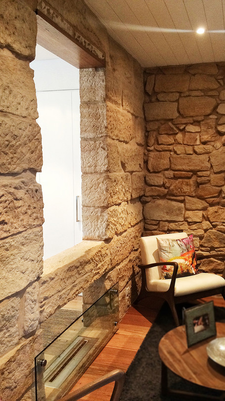 sandstone interiors