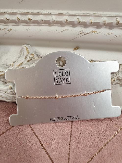 Bracelet Lou rose gold
