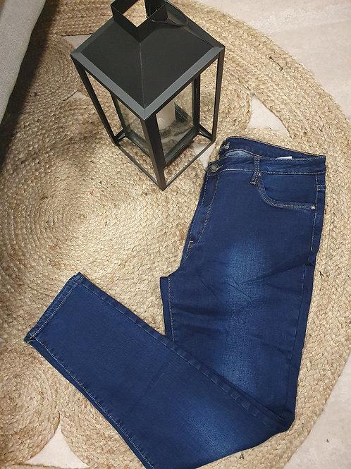 Jean skinny grande taille