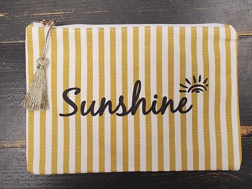 """Pochette """"Sunshine"""" jaune"""