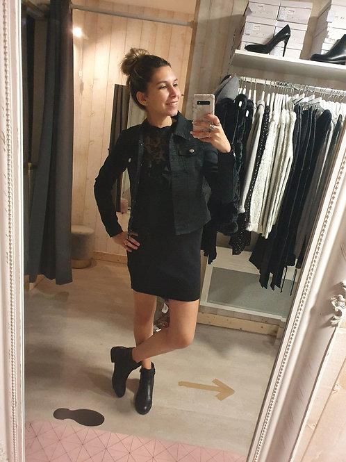 Veste stretch noir