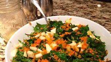 Tangy Kale, Carrot, and Apple Salad