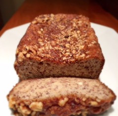 Grain, Dairy, and Added Sugar Free Banana Bread