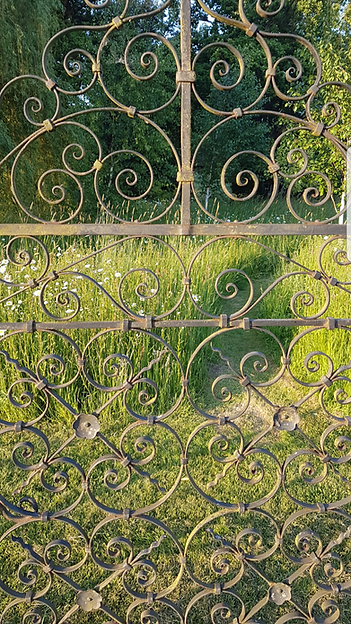 Gate into the Daisy Meadow