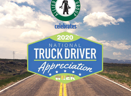 Allied Beverage Group Celebrates National Truck Driver Appreciation Week