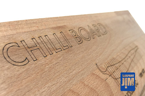 Chilli Board - Solid Beech