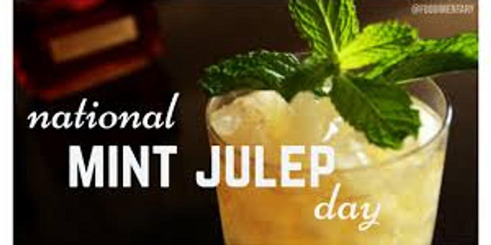 #QuarantineCantina PrepGame: National Mint Julep Day
