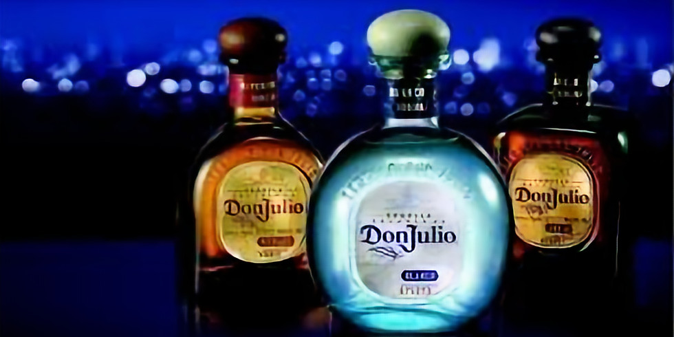Tequila Don Julio Virtual Education, Tasting, and Mixology Session
