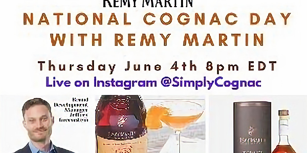National Cognac Day with Remy Martin