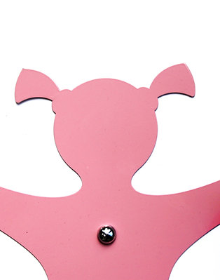 Pinkprintjim Coat hook