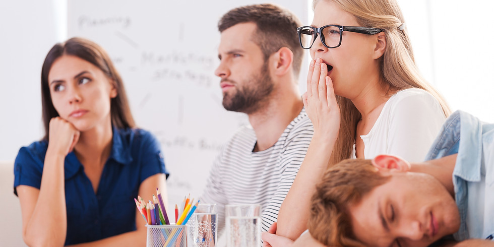 Half-Day Intensive: Impactful Presentations & How to Avoid Being Boring