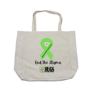 """End the Stigma"" Tote Bag - $35"
