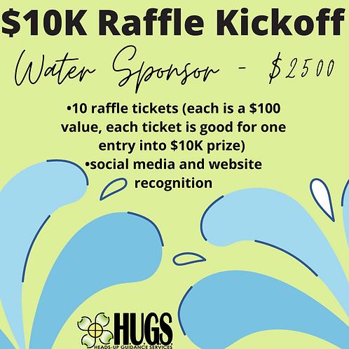 Water Sponsorship - $2500